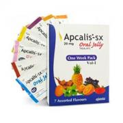 Apcalis-SX Tadalafil 20 mg Oral Jelly