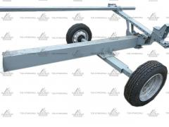 Cart for a grain harvester Flex one and two-axle, buy, price