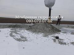 Installation of ballast roofing in Kramatorsk
