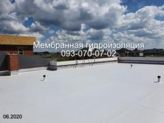 Maintenance of the elevator roof in the Dnieper