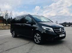 Minibus hire in Minsk with the driver. Mercedes V