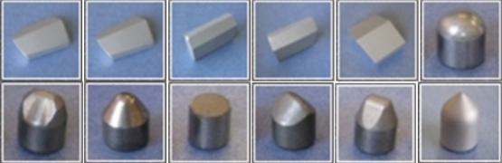 Пластины твердосплавные для бурового инструмента НПП Интерсплав