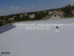 Професійний монтаж ПВХ мембрани в Києві