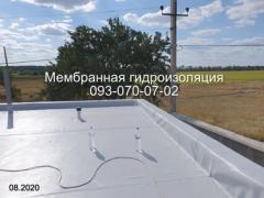 ПВХ мембрана, монтаж пвх мембрани в Новомосковську