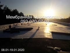 Repair and installation of PVC and TPO roofing membrane in Pavlograd