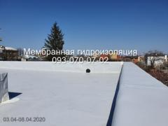 Roofing from PVC and TPO membranes in Pavlograd