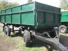 Trailer ZIL tipper on three sides