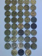 Will sell 1 penny of the USSR, 1967-1989 (43 pieces)