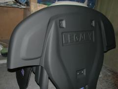 Защита двигателя с стекловолокна